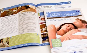 Newsletter, writer, Press Releases for SEO, Sleep Number Bed,