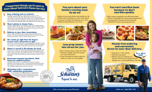 Schwan' s Consumer Direct Mail